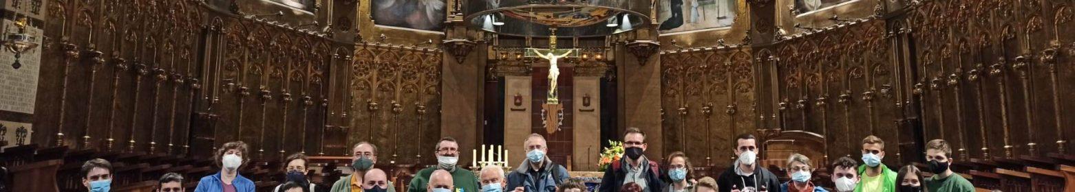 Romería y oración en Montserrat