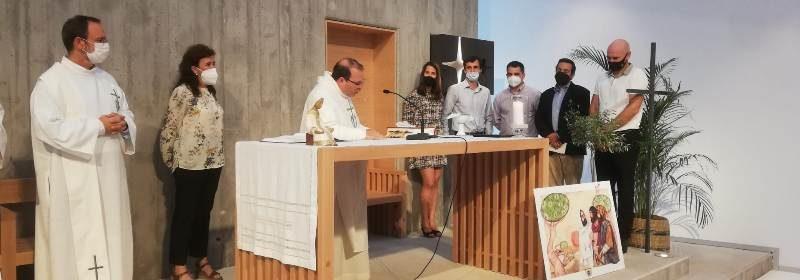 Consagraciones en Donostia: 5 fraternos dan el paso de su Sí Definitivo a María en las fraternidades